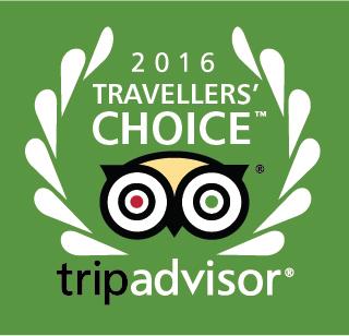 2016 TripAdvisor Travellers Choice Awards