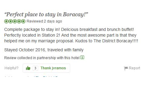 """""""Perfect place to stay in Boracay!"""" Tripadvisor Review"""