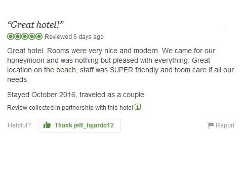 """Great hotel!"" Tripadvisor Review"