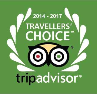 2017 TripAdvisor Travellers Choice Awards