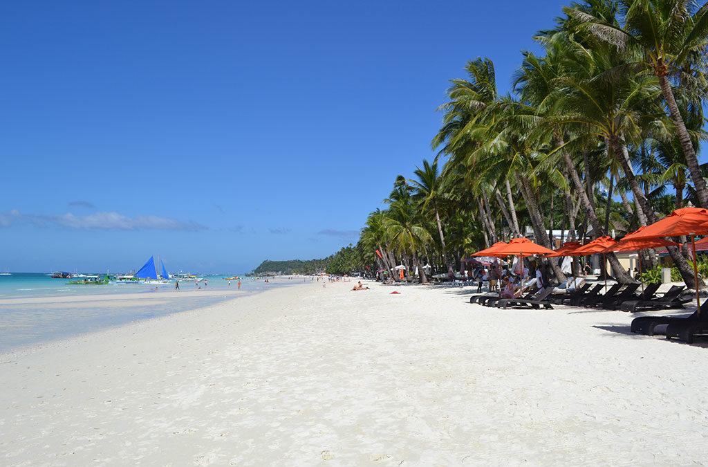 White Beach On Boracay Island