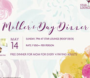 Mother's Day Treat at The District Boracay!