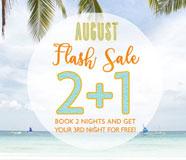 August Flash Sale Promo