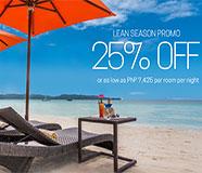Lean Season 25% Off Promo