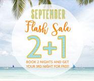 September Flash Sale Promo